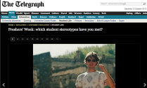 The Telegraph, Education Section, published: 10th September, 2013
